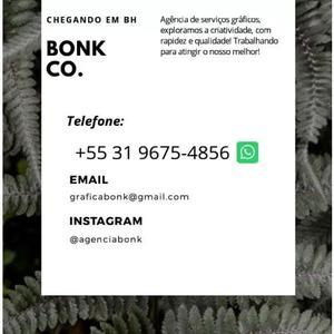 Agência bonk - serviços gráficos e marketing digital