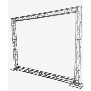 dc0c2cbc17 Aluguel treliças trave box truss q15 backdrop aço 2,5 x 3m