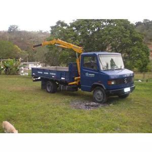 Caminhão munck de pequeno porte (1,5tn)