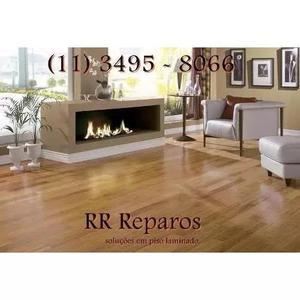 Conserto, reparo e manutenção de piso laminado t-