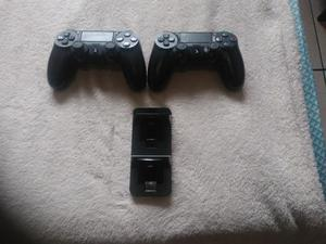 Controle ps4 playstation 4 e carregador