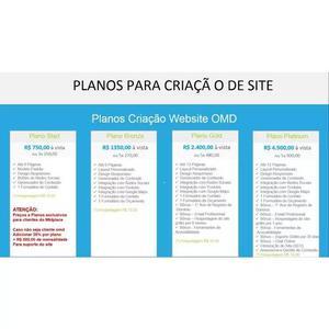 Criaçao desenvolvimento e suporte de sites