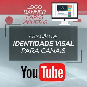 Criação de identidade visual para youtubers