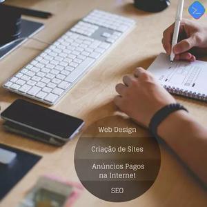 Criação de site profissional e responsivo a partir de