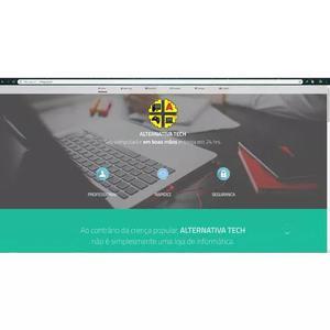 Criação de sites, app mobile e sist