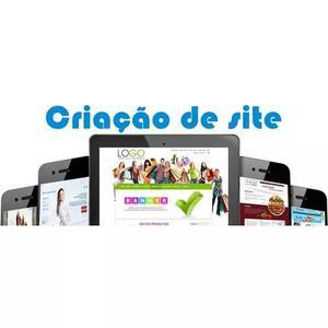 Criação de website, loja virtal e aplicativos