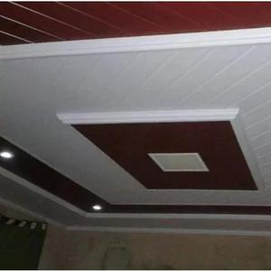 Forro de pvc madeirado m² colocado/instalado sp comgarantia