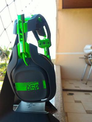 Headset gamer 7.1 astro a50 com mod kit sem fio xbox one/pc