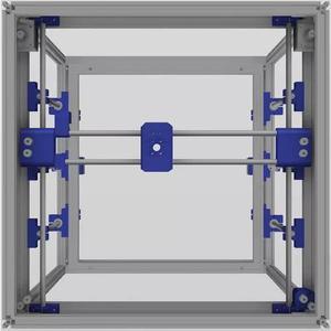 Impressão 3d sla de resina