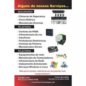Informatica | segurança | telefonia