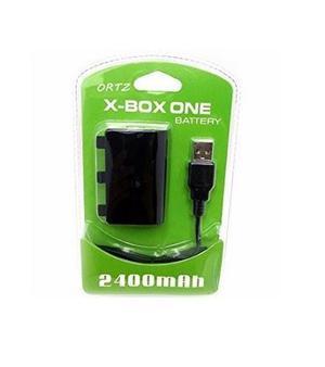 Kit bateria e cabo carregador xbox one 2 unidades