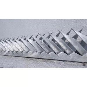 Lança mandibula /espinhaço com 10 metros de muro