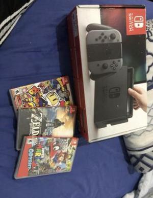 Nintendo switch 3 jogos c/ nota fiscal