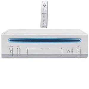 Nintendo wii branco, destravado, semi-novo, 5 jogos, loja