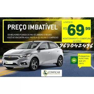 Proteção automotiva +rastreador bloqueador+assistência