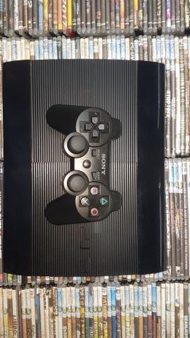 Ps3 - playstation 3 super slim semi novo