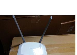 Roteador wireless de 300 mbps tp link com 2 antenas só
