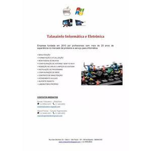 Serviços de informatica e vendas de periféricos de info