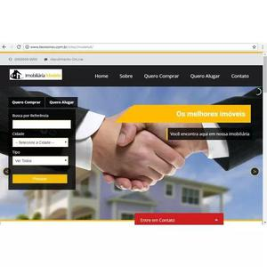 Site para imobiliária,imobiliária na web,imobiliária