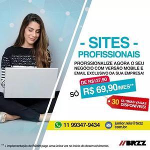 Tenha o seu site e e-mail profissional agora!