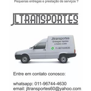 Transporte de pequenas cargas e prestação de serviços