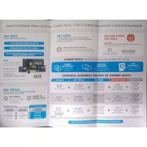 Vendas de serviços de telecomunicações.