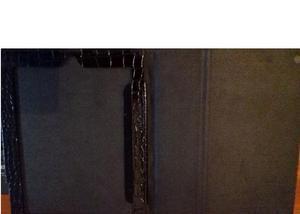 Capa case para tablet ou ipad cor preta lux