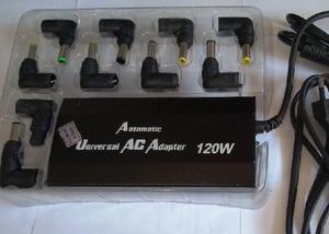 Carregador universal notebook plug residencial 120w 10 pinos