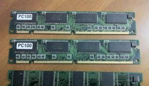 Processador amd + memorias ram pc100 e antigas