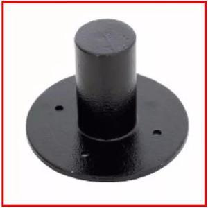 1 suporte alumínio copo chapeu para pedestal de caixa de