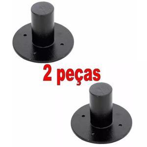 2 suporte alumínio copo chapeu para pedestal de caixa de