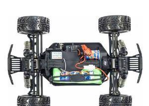 Automodelo fs mini monster 118 elétrico 2.4 ghz à prova
