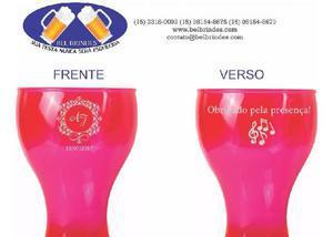 Canecas e copos de acrílico personalizadas