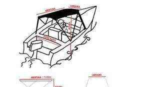 Capotas náuticas e toldos para lanchas e barcos.