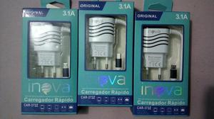 Carregadores turbo inova 3.1a 5v