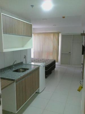 Edf. smart residence: apart. flat com copa cozinha e suíte,