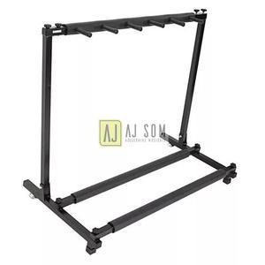 Estante suporte rack p/5 instrumentos