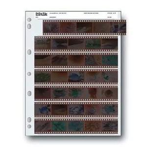 Folha de proteção print file 35-7bxw negativos 35mm pacote