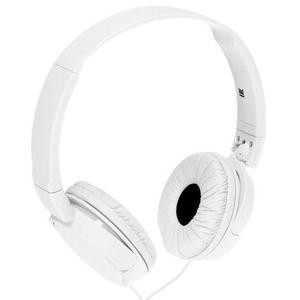 Fone de ouvido headphone sony branco - mdr-zx110/w