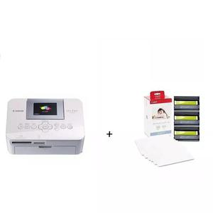 Kit impressora canon bivolt cp1000 108 papel foto e cartucho