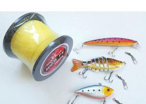 Kit iscas & linha de pesca 2060