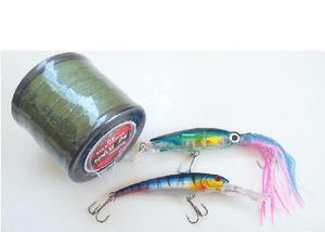 Kit iscas & linha de pesca 2070