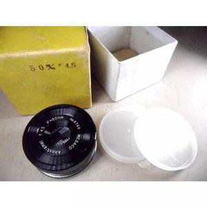 Lente 50 f4,5 nova * p/ ampliador, laboratório diy ñ leica