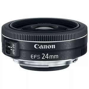 Lente Canon Ef-s 24mm F/2.8 Stm Grande Angular - Pronta Entr