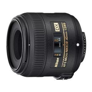 Lente nikon af-s dx micro-nikkor 40mm f/2.8g
