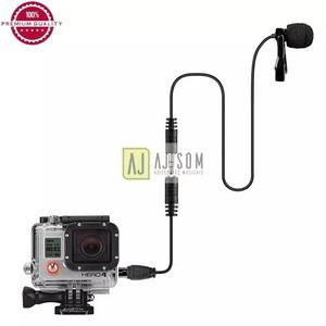 Microfone profissional de lapela p/celular,gopro-rode,sony