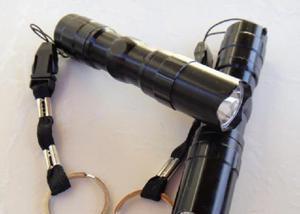 Mini lanterna de led tática a prova d`agua