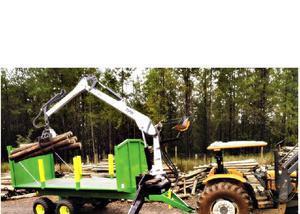 Munck florestal tph 6000 - fabricamos e financiado bndes