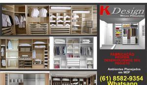 Móveis planejados - fabricamos sob encomenda para venda