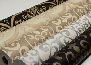 Papel de parede importado vinílico lavável texturizado